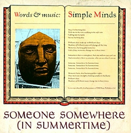 Simple Minds - Someone Somewhere In Summertime